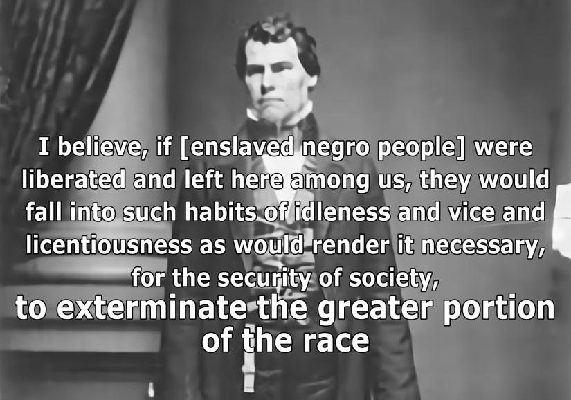 U.S. Rep. John H. Reagan: A moderate pro-slavery advocate circa1860