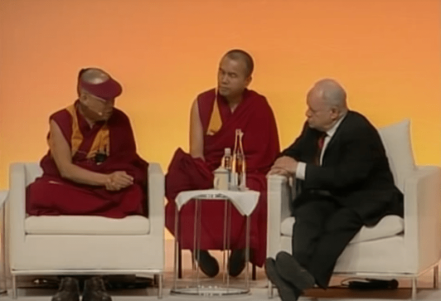 Martin Seligman and Dalai Lama